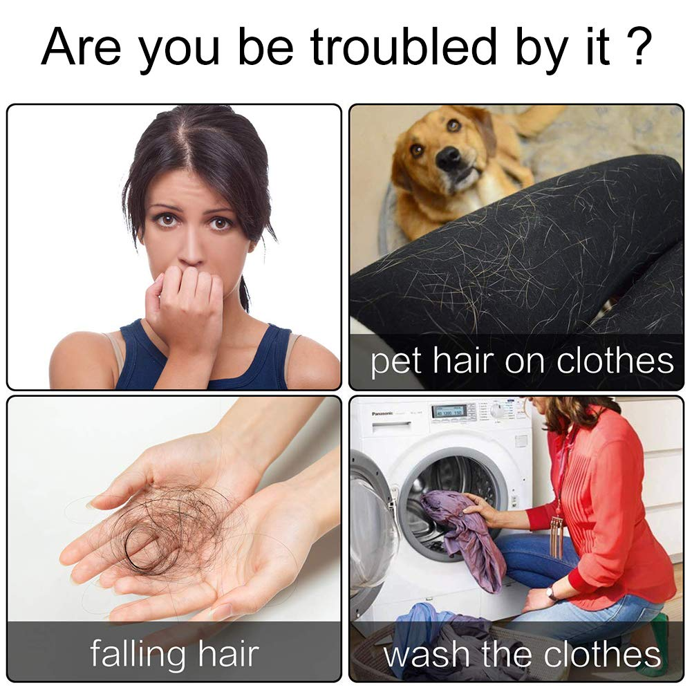INTVN 4PCS Removedor de Pelo para Mascotas de lavandería ...