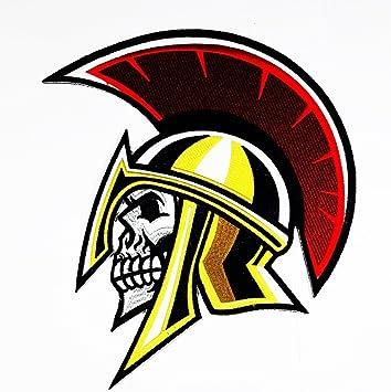 Rabana XXL Guerrero Espartano calavera romano casco y espadas ...