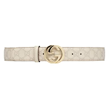 aa216f07631 Gucci Ceinture en cuir pour homme SIGNATURE (370543-AA61G-9022 ...