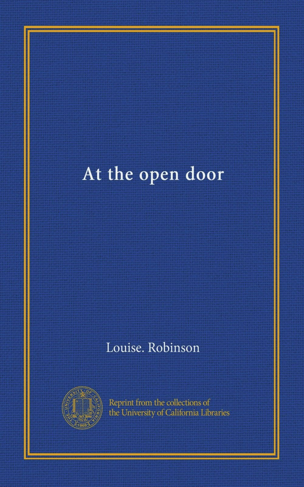 Download At the open door pdf epub
