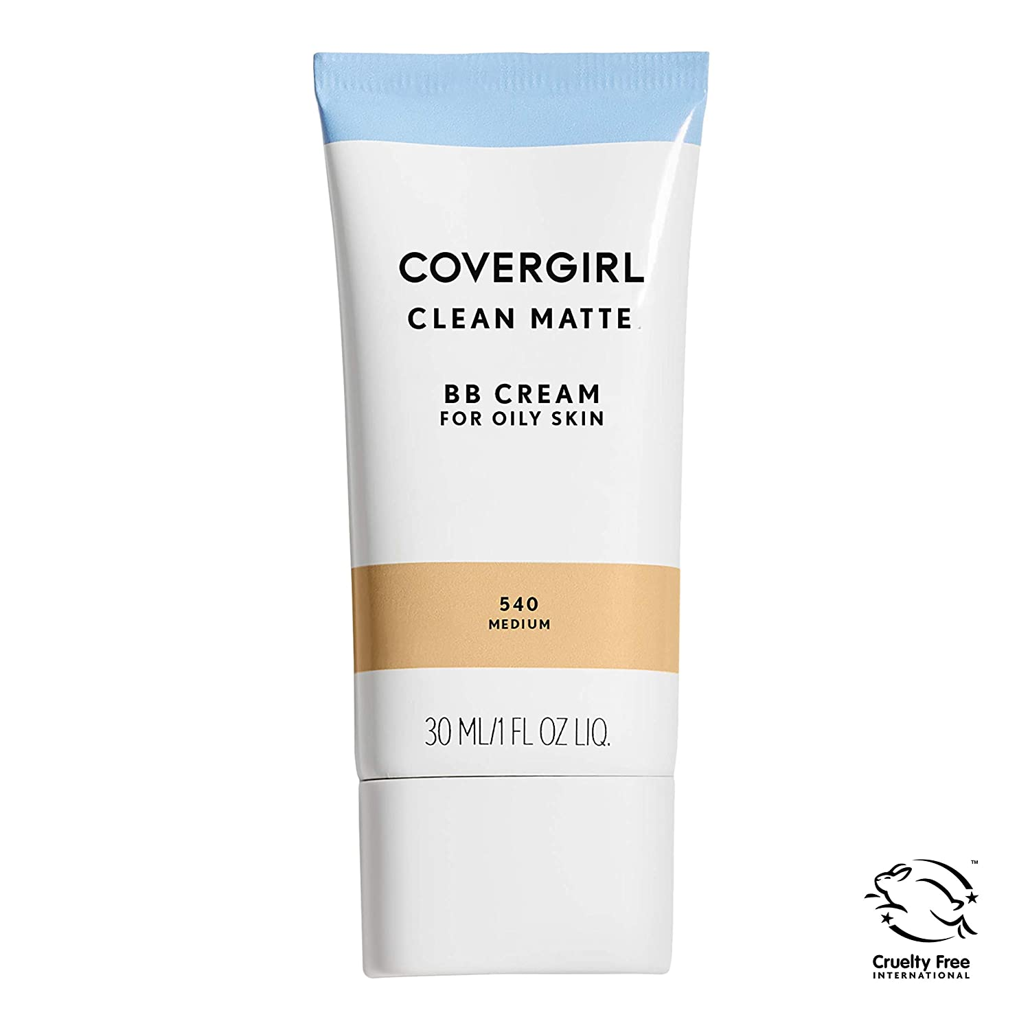 COVERGIRL Clean Matte BB Cream Medium 540 For Oily Skin, (packaging may vary) - 1 Fl Oz (1 Count)