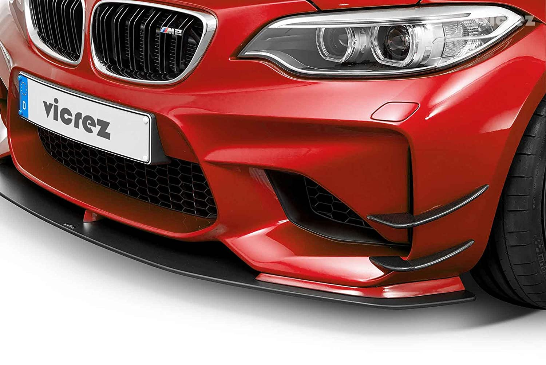 Vicrez BMW M2 F87 2016-2018 VZ4 Carbon Fiber Bumper Canards vz100586
