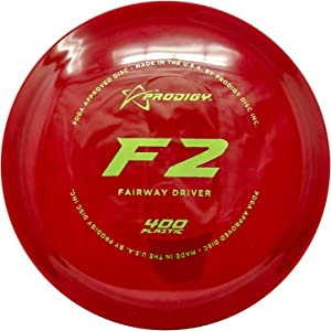 Prodigy Disc 400 Series F2 Fairway Driver Golf Disc [Colors May Vary]
