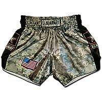 Muay Thai Shorts Kickboxing Martial Arts Combat Fight MMA UFC Boxer Boxing Trunks