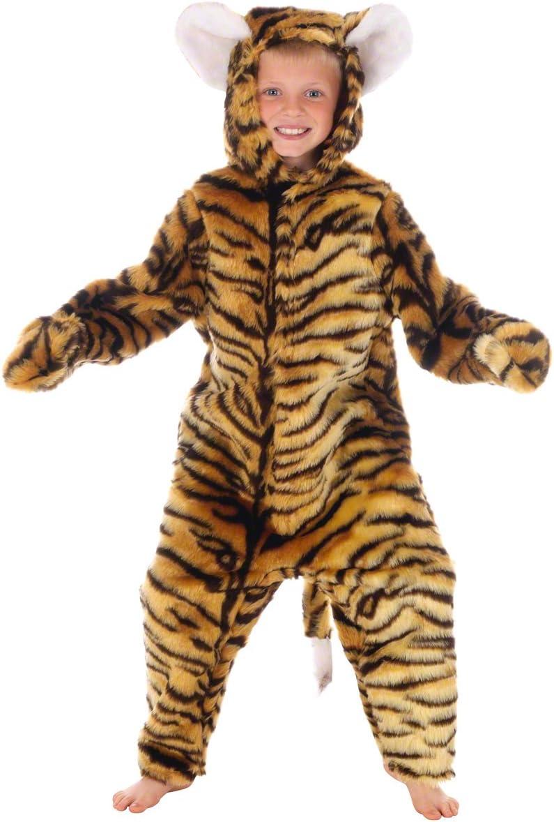 Tiger - Disfraz de tigre para niño, talla 10-12 años (993178 ...
