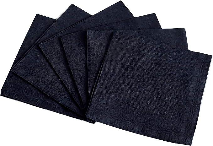 Amazon.com: Pañuelos para hombre, 100% algodón suave, jersey ...