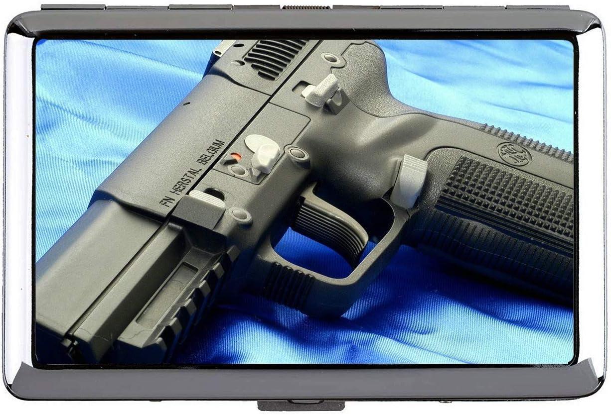 Cigarrillo, Estuche rígido y Soporte, Arma FN Herstal Pistola Tarjeta Profesional de Negocios