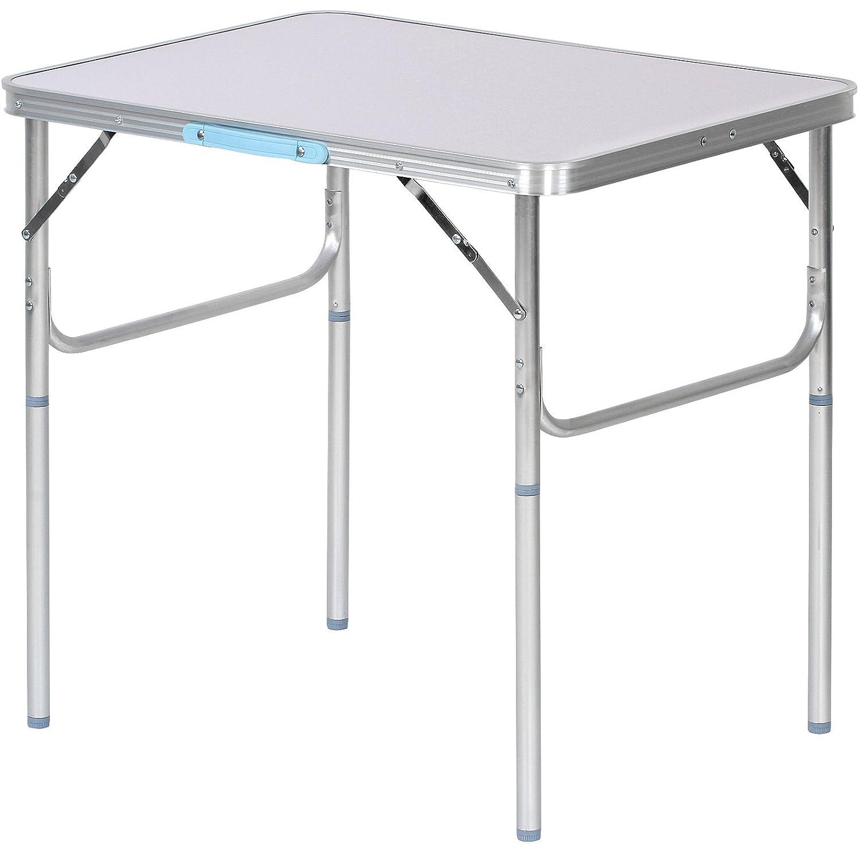 Campingtisch Gartentisch.Oramics Klapptisch Campingtisch Gartentisch Aus Aluminium Und Mdf Belastbar Bis 20kg Folding Table Silver 76x55x75 Cm