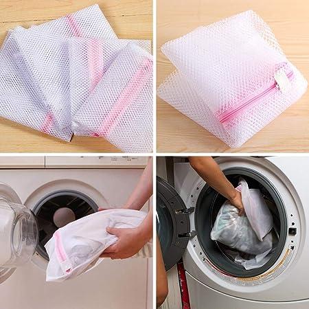 Ceanfly - Bolsa de lavandería con Cremallera, Reutilizable, Bolsa ...