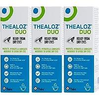3 x Thealoz Duo zonder conserveringsmiddel 10 ml voor intensief droge ogen. NIEUW