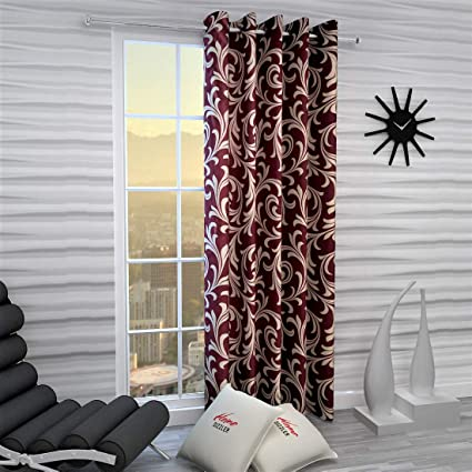 Home Sizzler Polyester Curtain
