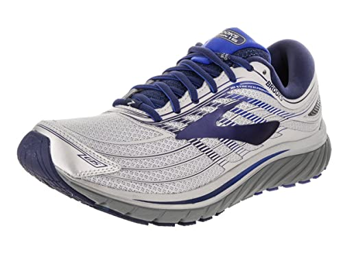 645fffc7ebb Brooks Men s Glycerin 15 Silver Navy Blue 11.5 D US  Amazon.in  Shoes    Handbags