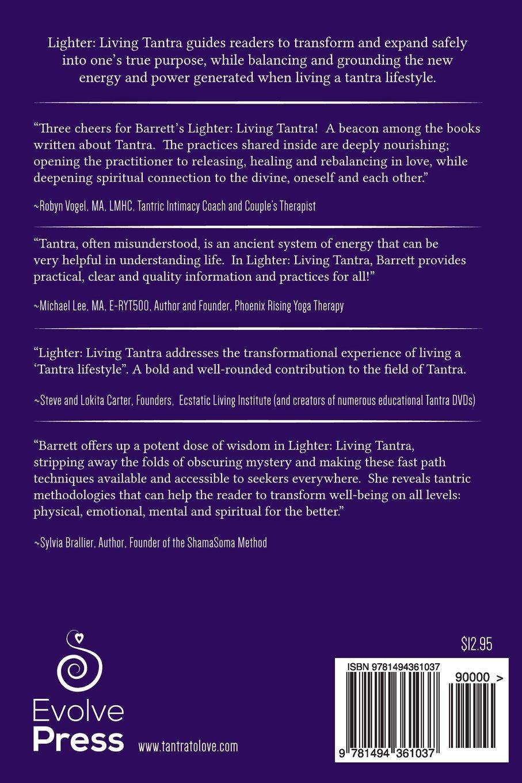 Books on physical therapy - Lighter Living Tantra Prana Regina Barrett 9781494361037 Amazon Com Books