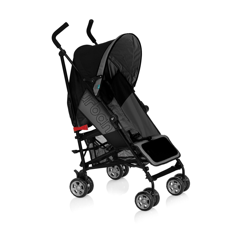 Innovaciones MS Urban - Silla de paseo, color negro y gris ...