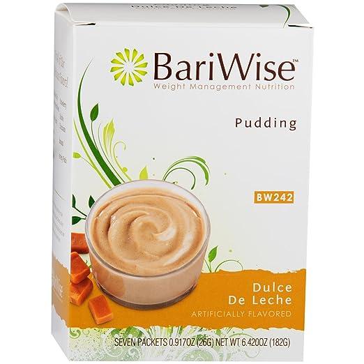 Amazon.com: BariWise Diet Protein Pudding, Dulce De Leche - 7 Servings: Health & Personal Care