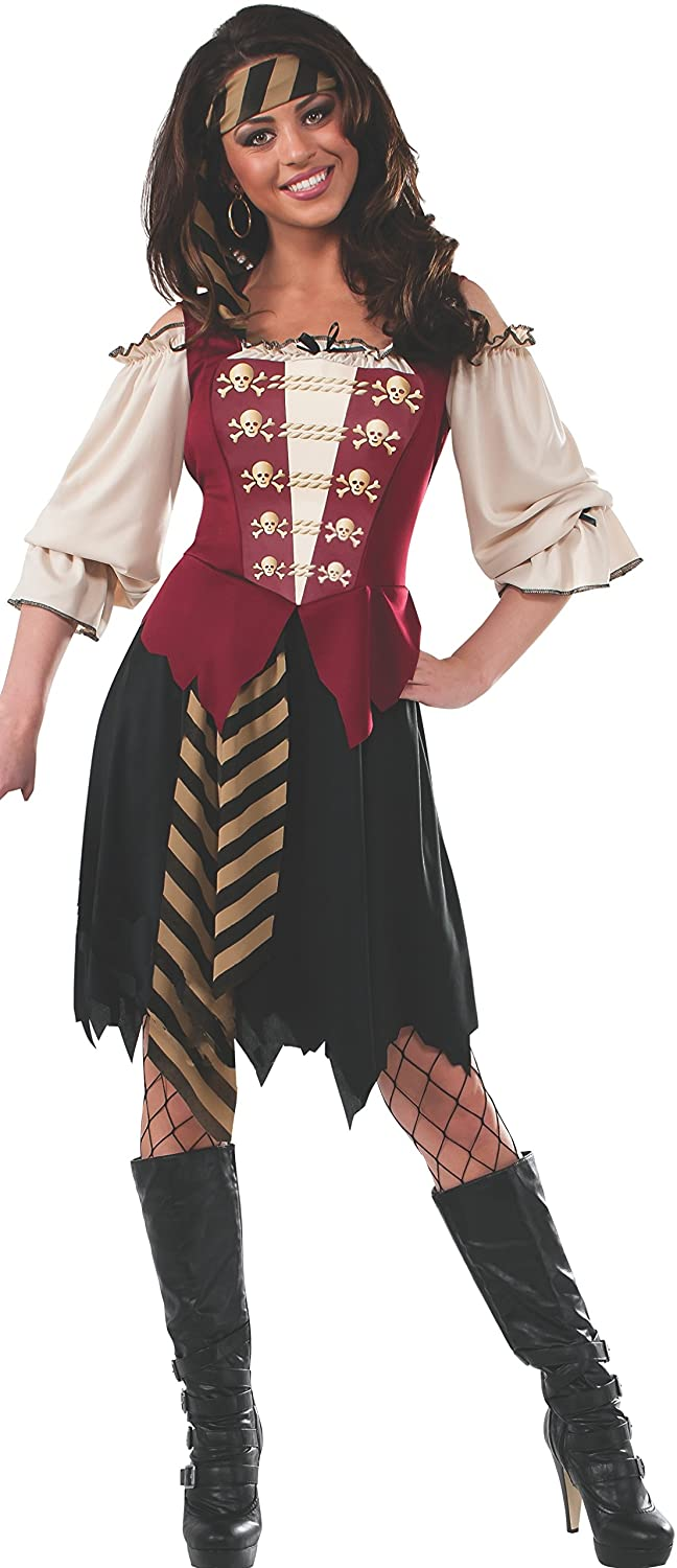 amazoncom rubies costume womens elegant pirate adult costume clothing - Pirate Halloween Costume For Women