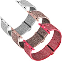 INTENY Sport Band Compatible with Apple Watch 38mm 40mm 42mm 44mm, Soft Sport Loop, Strap Replacement for iWatch Series...