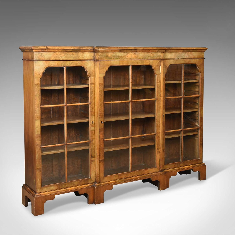 Estantería estilo victoriano de nogal esmaltada c1890: Amazon ...