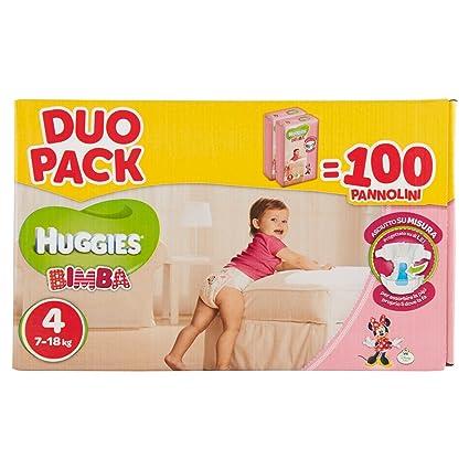 Huggies - Bimba - Pañales - Talla 4 (7 - 18 kg) - 2