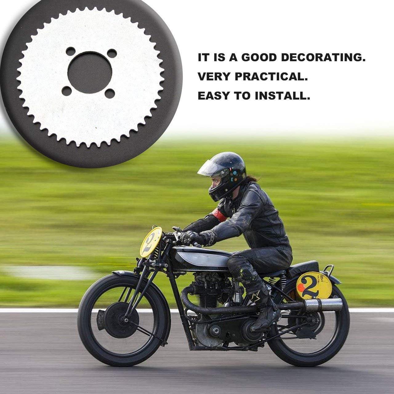 EmNarsissus Modifiziertes Offroad-Motorrad 25H-47T Kettenrad Aus /überlegenen Materialien hergestellt Fest und stabil zu bedienen