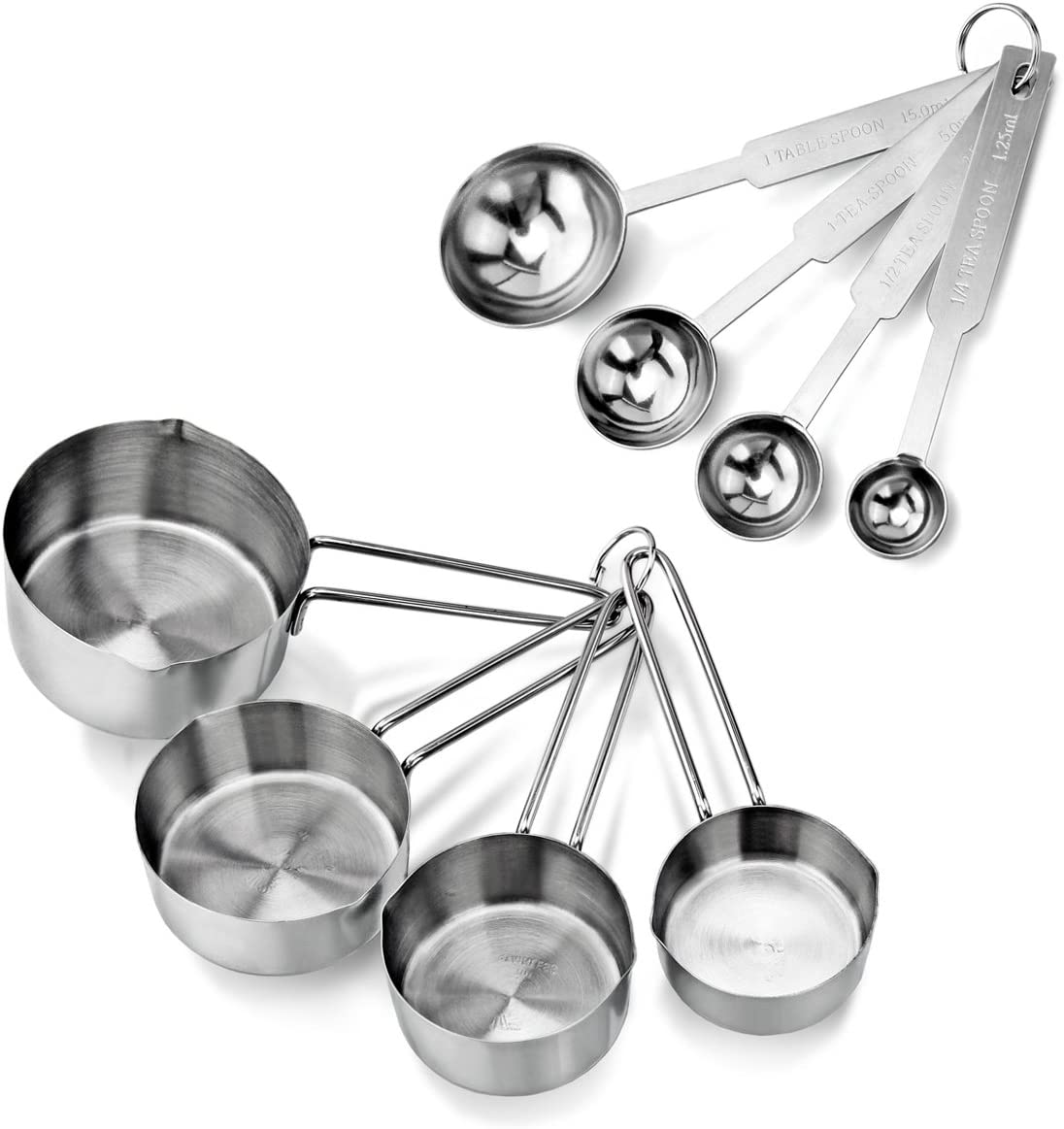 New Star Stainless Steel Measuring Set