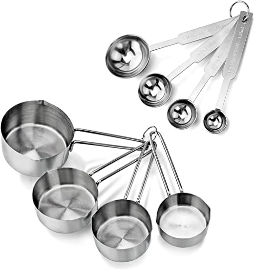 SPOONS 8 PCS BAKING  BRADS ** 2 CUTE ** SEE MY STORE ** COOKIE SHEETS