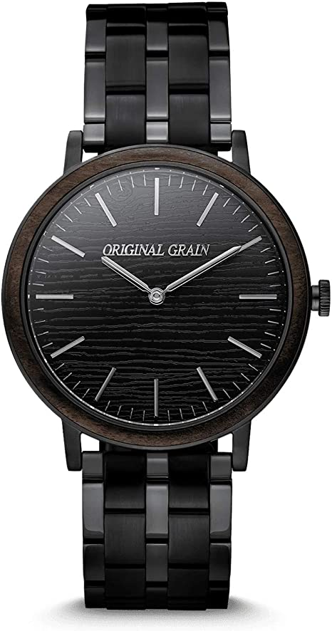 Minimalist Orginal Grain Wood Wrist Watch