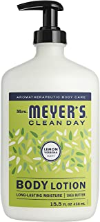 product image for Mrs. Meyer's Clean Day Body Lotion, Long-Lasting, Non-Greasy Moisturizer, Cruelty Free Formula, Lemon Verbena, 15.5 oz