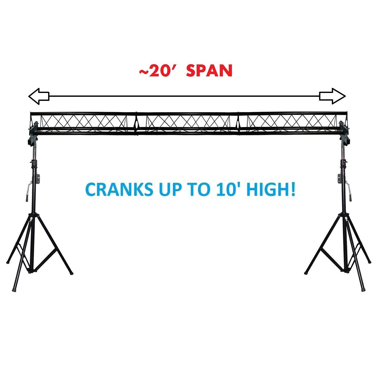 tripod ha racks detailed audio dj image truss harmony stands package trusskit light itm pro lighting