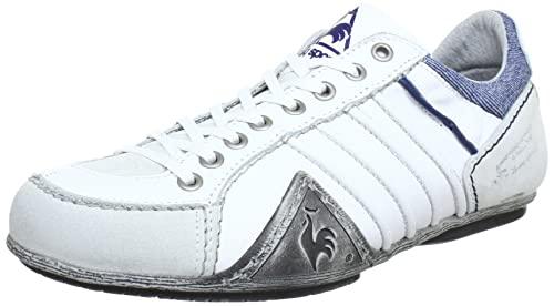 b526441ce8fc buy le coq sportif bordeaux low zapatillas de cuero hombre color blanco  talla 40 4ead5 48aec