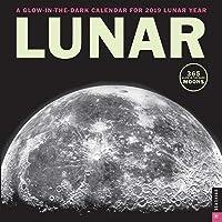 Lunar 2019 Wall Calendar: A Glow-in-the-Dark Calendar for the Lunar Year