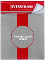 """Fire Resistant Document Bag 