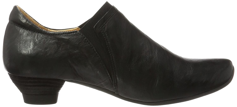 du Noir couvert 00 Chaussures Noir Think à pieds 42 BEE Avant EU femme talons Xwx40zBx
