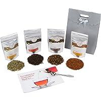 Golden Moon Tea - Tea Gift Set | 100% USDA Organic Loose Tea Sampler Set | Robust...