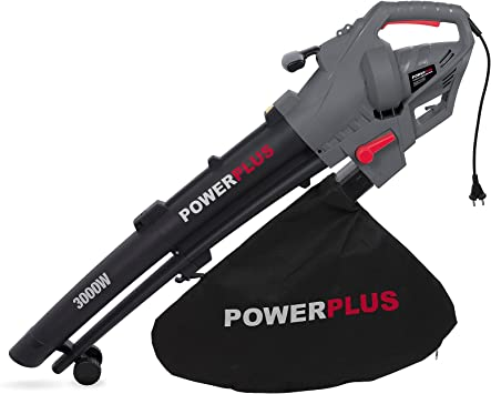 POWERPLUS POWEG9011 - Soplador/aspirador de hojas 3000w: Amazon.es ...