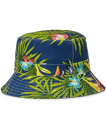 ec789c4a3 Polo Ralph Lauren Floral Print Bucket Hat - Trumpet Floral (S/M ...