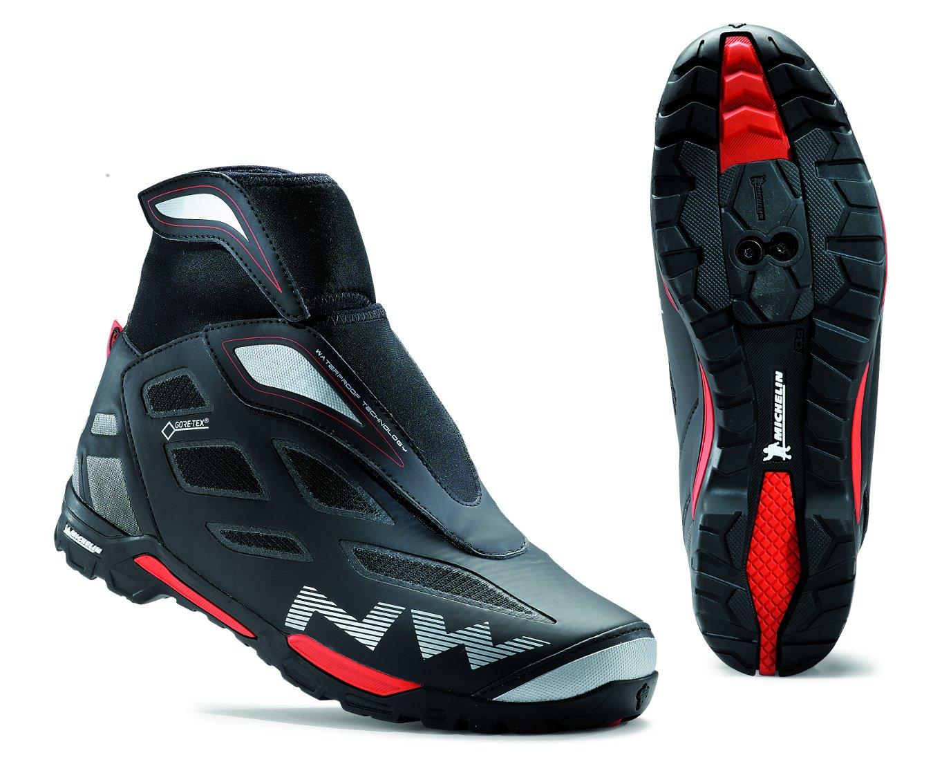 Zapatos de trekking NORTHWAVE X-CROSS GTX negros: Amazon.es: Deportes y aire libre