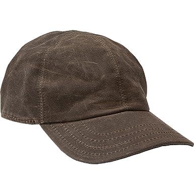 51b69579b Stormy Kromer Men's The Waxed Cotton Curveball Cap at Amazon Men's ...