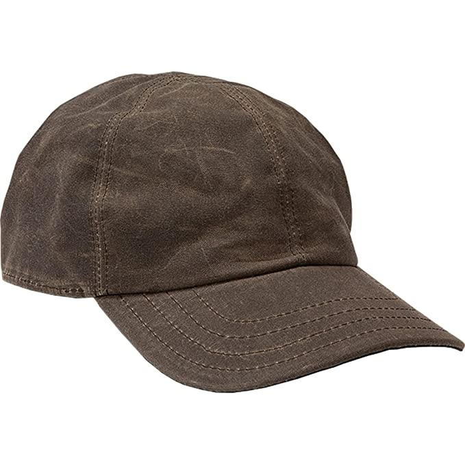 d47aafaf0 Stormy Kromer Men's The Waxed Cotton Curveball Cap at Amazon Men's Clothing  store: