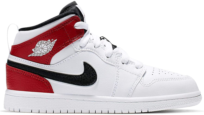 jordan 1 red white black