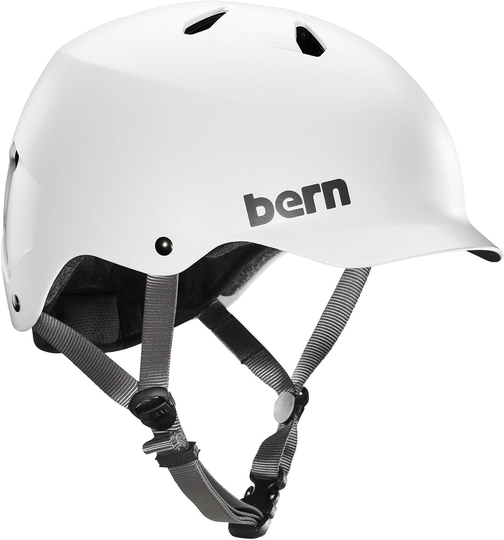 bern(バーン) ヘルメット ヘルメット WATTS メンズ 自転車 スケートボード BE-BM25BSWHT-06 Satin 白い XL