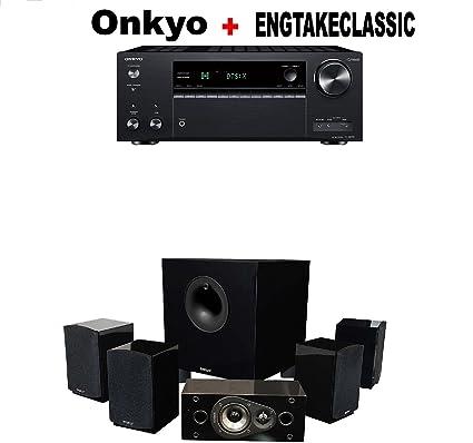 Amazon.com: Onkyo TX-NR787 9.2 Channel Network A/V Receiver Black + ...