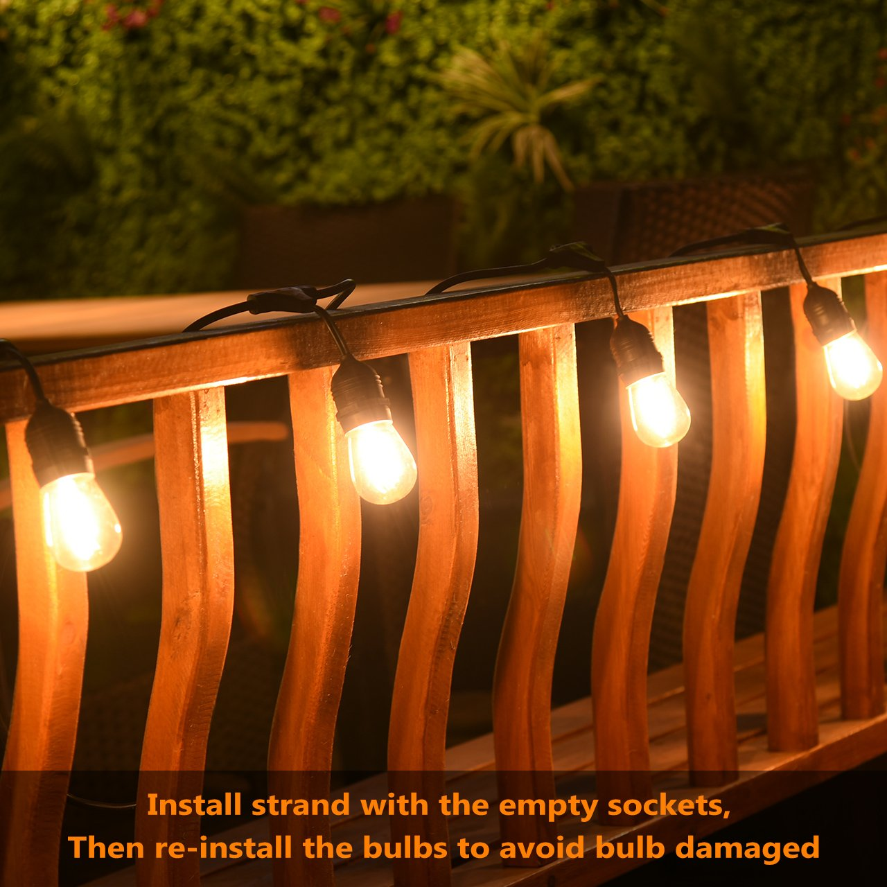 Dimmable Outdoor Patio Lights