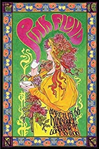 Buyartforless Pink Floyd London March 1966 Marquee Concert by Bob Masse 36x24 Music Art Print Poster