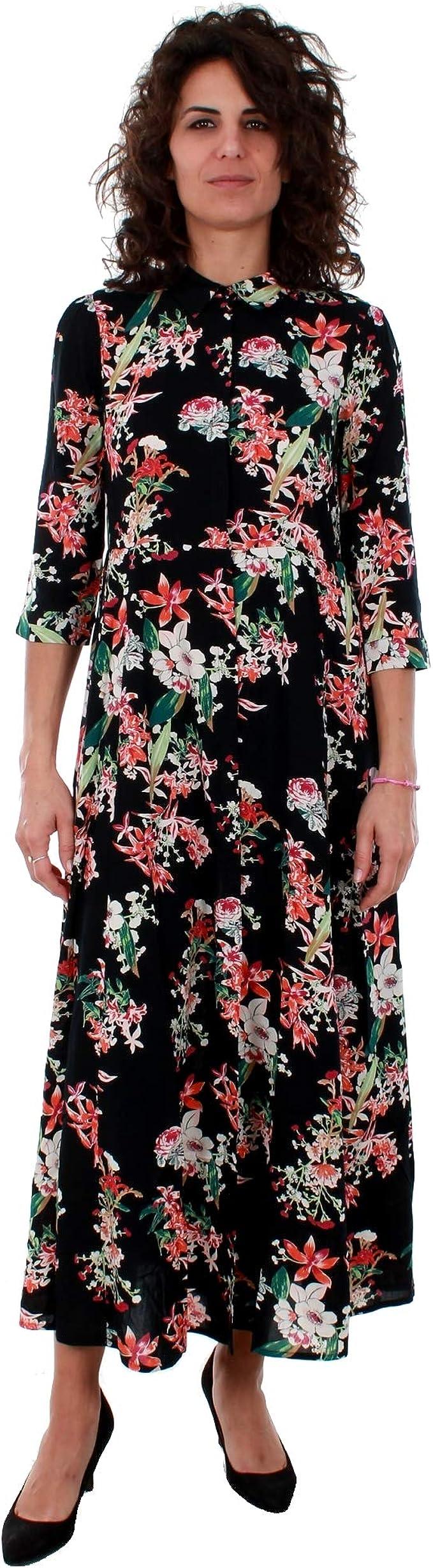 VERO MODA Kleid Damen XS Langarm Schwarz 11 VMCARLIE 11/11