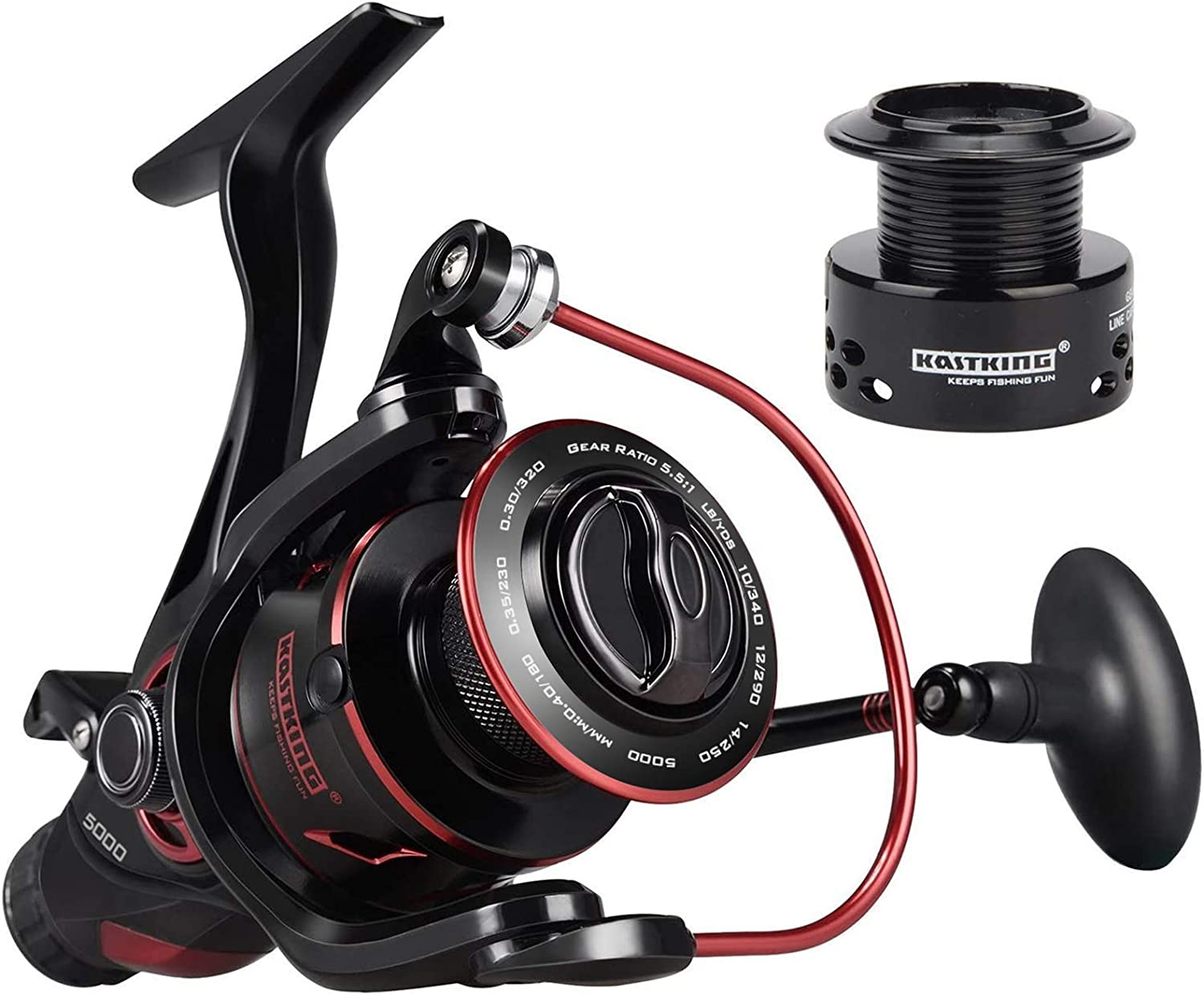 Best Spinning Reel: KastKing Sharky Baitfeeder III Spinning Reel