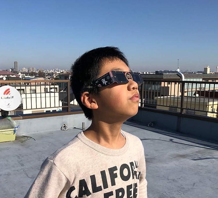日食めがね CE安全規格認証 ISO(4個)