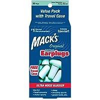Macks Original Soft Foam Earplugs, 30 Pair