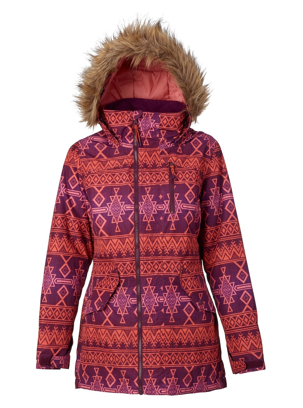 Burton Cadence Hazel - Cazadora de Snowboard para Mujer, Otoño-Invierno, Mujer, Color Starling Mojave, tamaño Medium