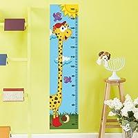 DekorLoft Şirin Zürafa Boy Ölçer Sticker DBC12